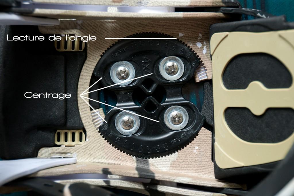 disque fixation réglages