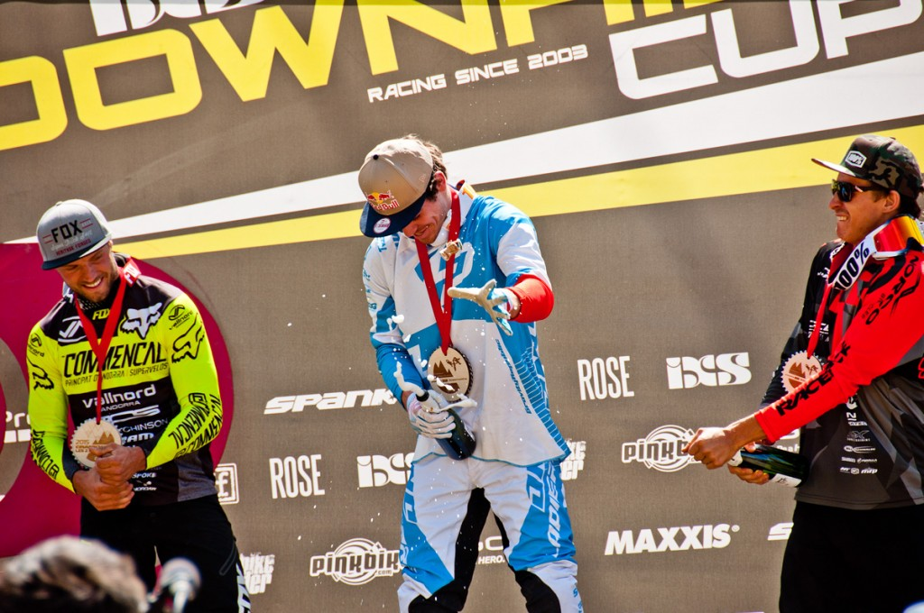 crankworx 2015 2 alpes podium hommes
