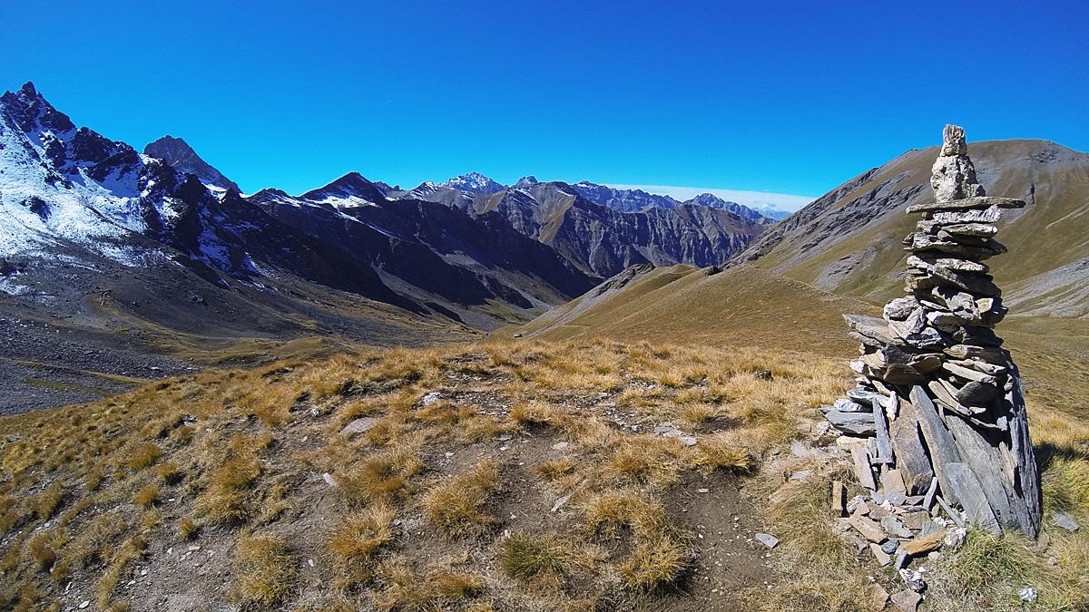 Quelle que soit l'altitude, la sortie assure côté paysages, et il suffit de se retourner pour en prendre plein la vue.
