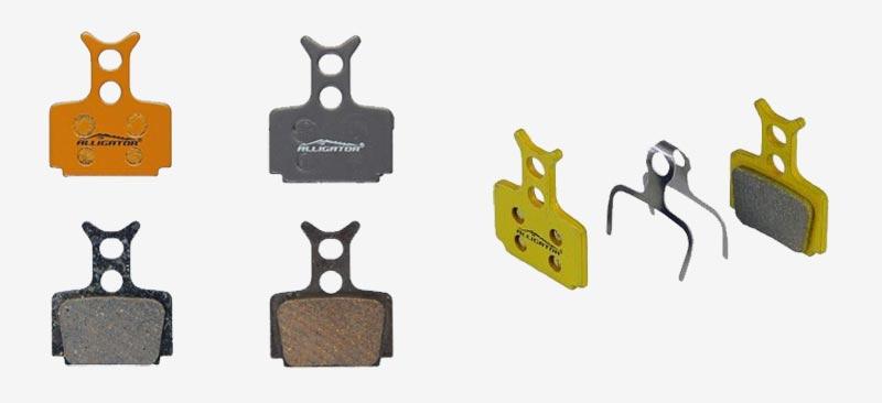 Plaquettes de frein Alligator modèles garniture