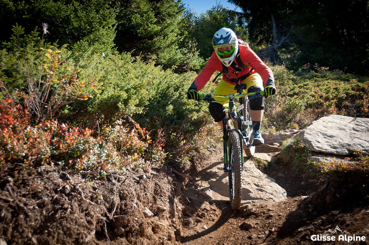 7 Laux bikepark - Crête