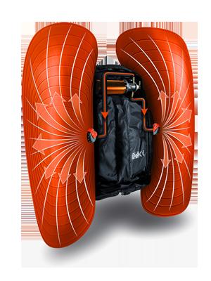 Sac airbag ABS