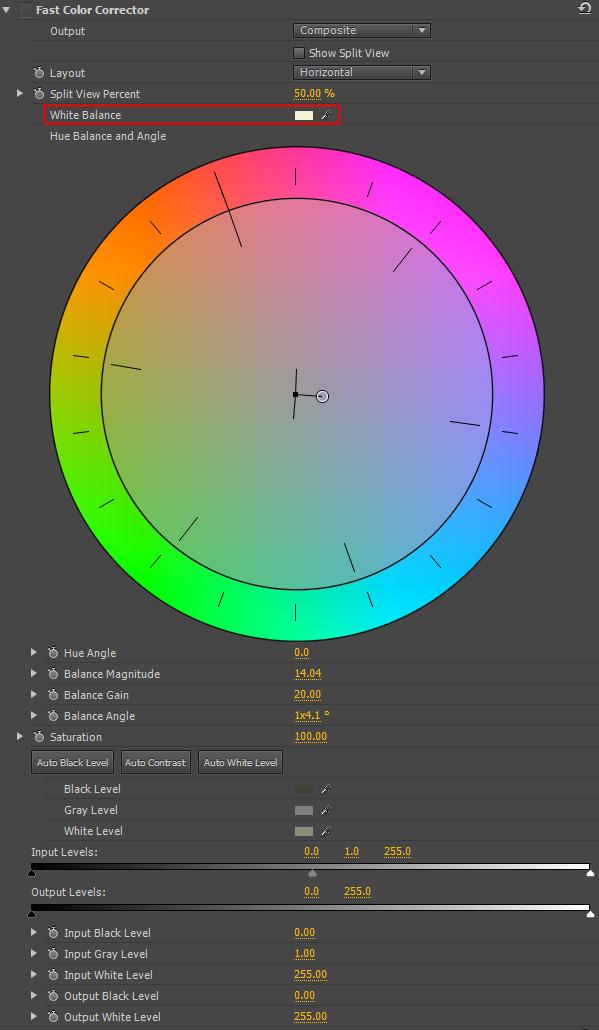 correcteur chromatique rapide