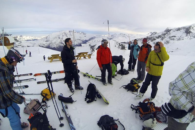 2 Alpes - Freeride Attitude - DVA Park préparation