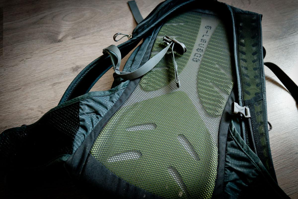 Osprey Raptor 14 - Airscape mesh