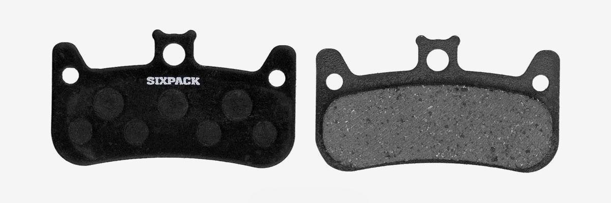 Plaquettes de frein VTT - Garniture semi-métallique