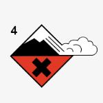 Risque d'avalanche de niveau 4