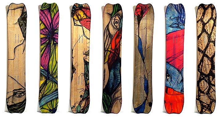 Snowboards Clone Ind - Toltèque