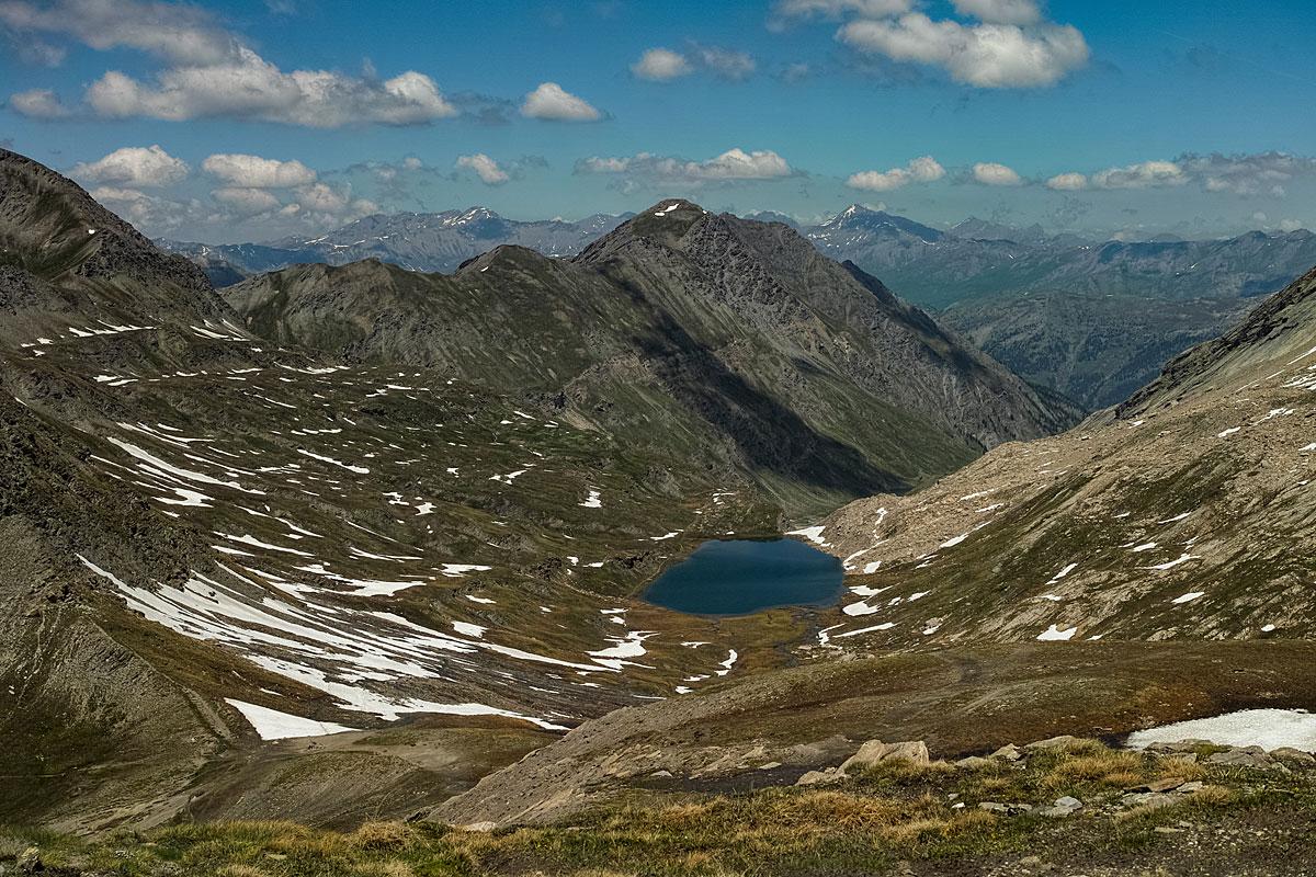 VTT Queyras - Col Vieux et lac Foréant