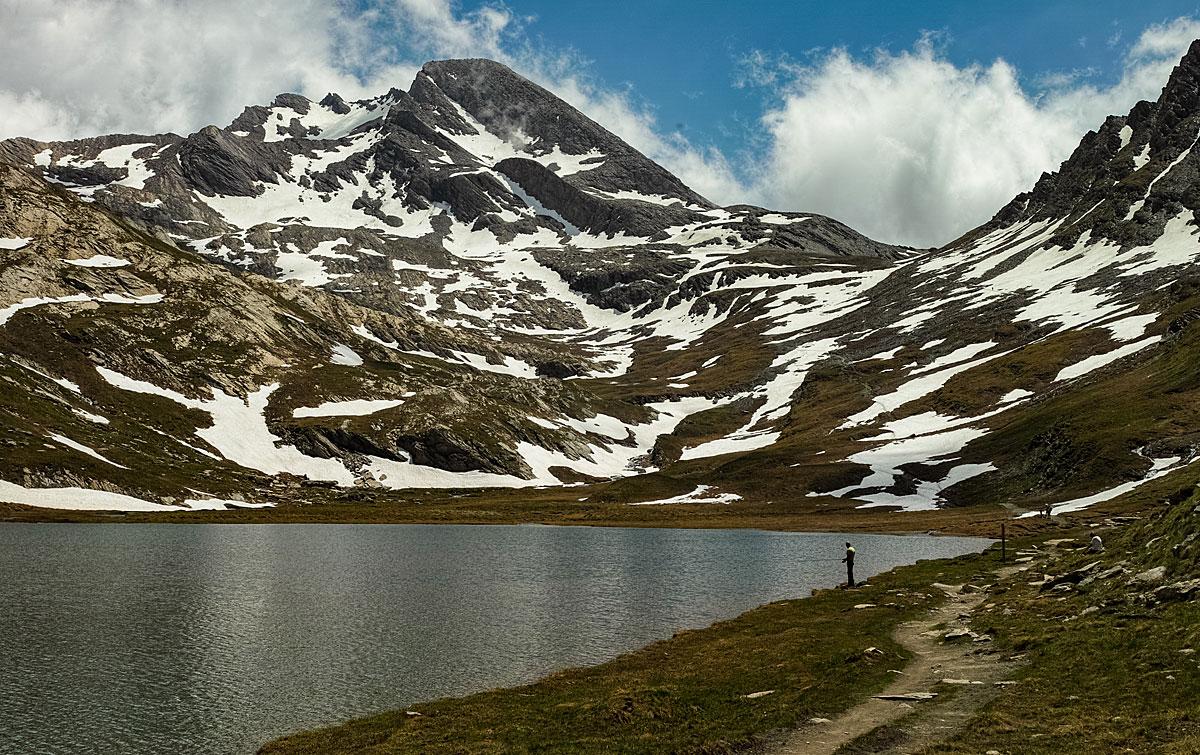 VTT Queyras - Lac Foréant et Pain de Sucre