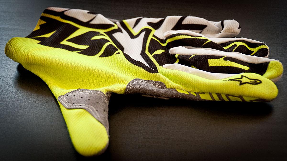 Test gants Alpinestar Rover - dessus