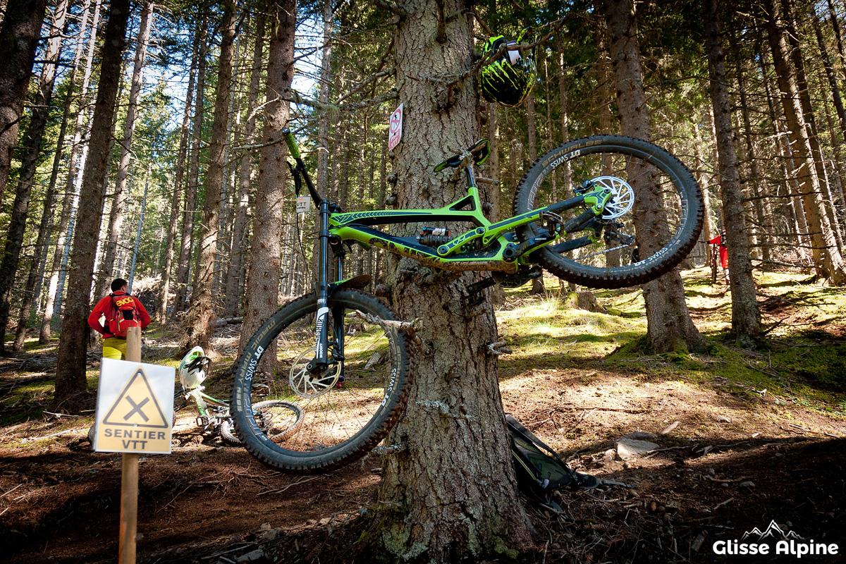 7 Laux Bikepark - Porte-vélo naturel