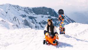 Apprendre le snowboard - 01