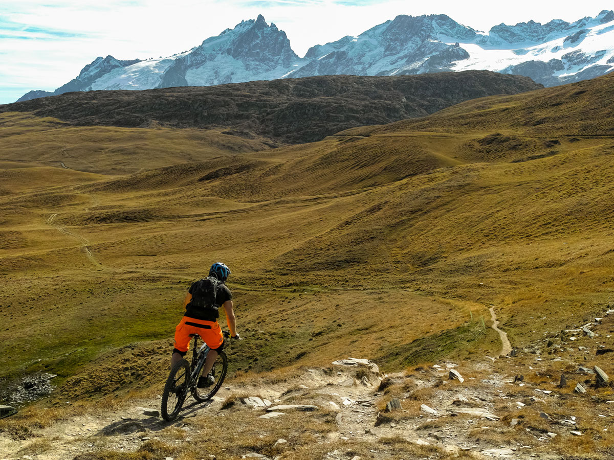 Plateau d'Emparis - vue vers le sud-est