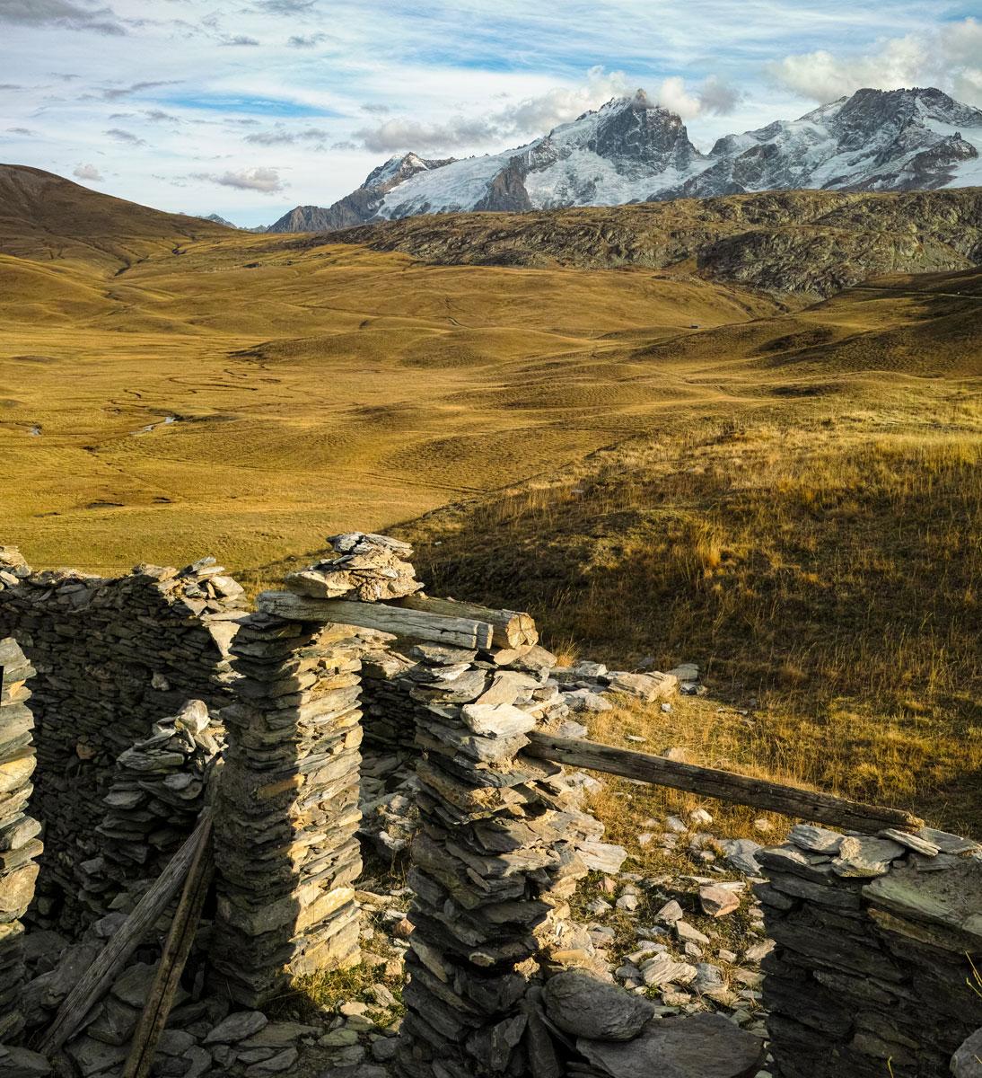Plateau d'Emparis depuis le chalet Josserand