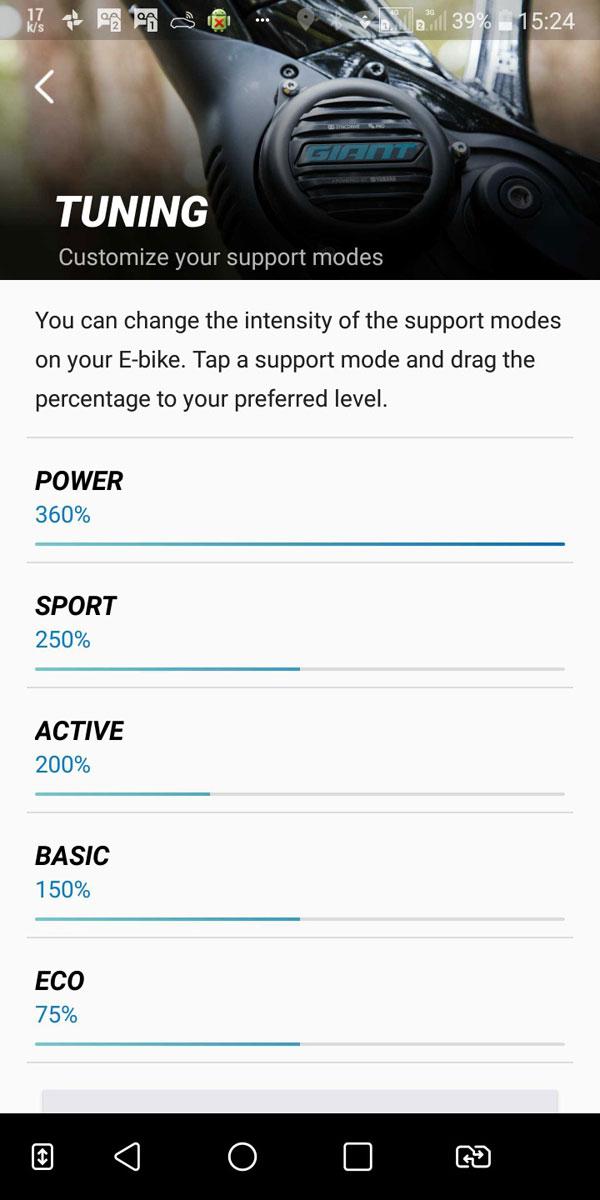 App Giant RideControl