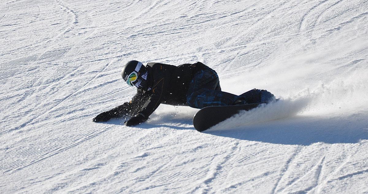 Apprendre le snowboard - Carving