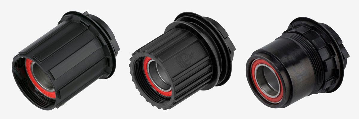 Standards de corps de roue libre - HG, XD, Micro Spline