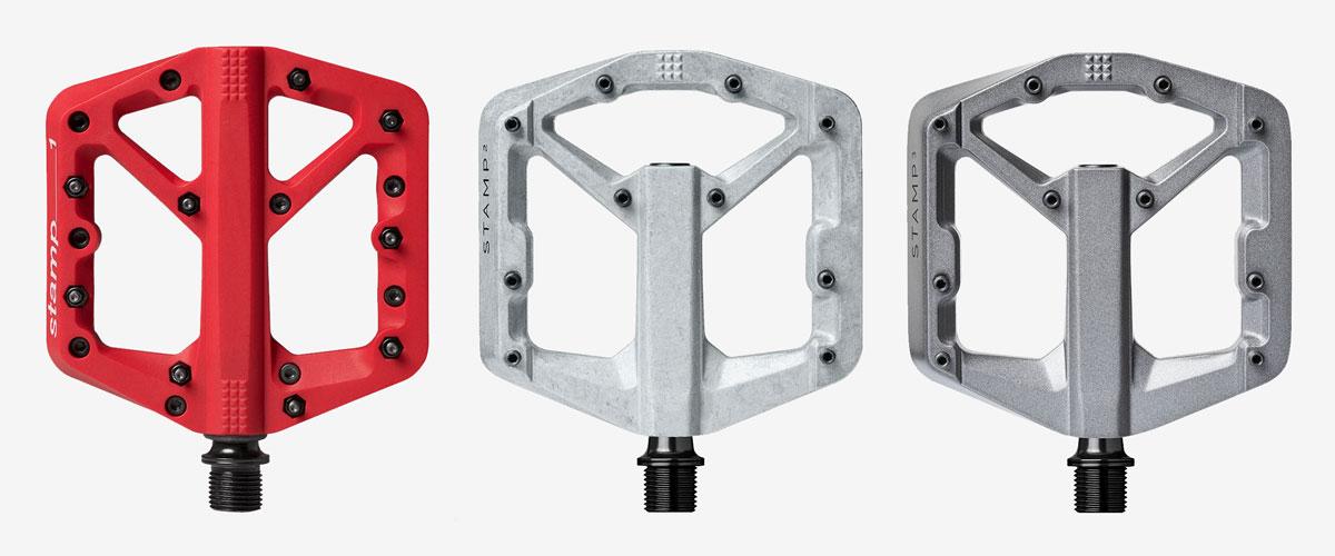 Choix pedales plates VTT - Materiau