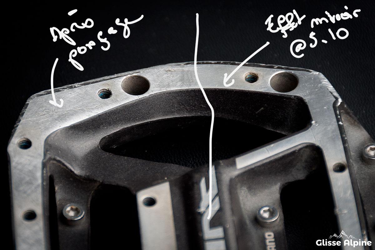Plateforme pédales Shimano MX80