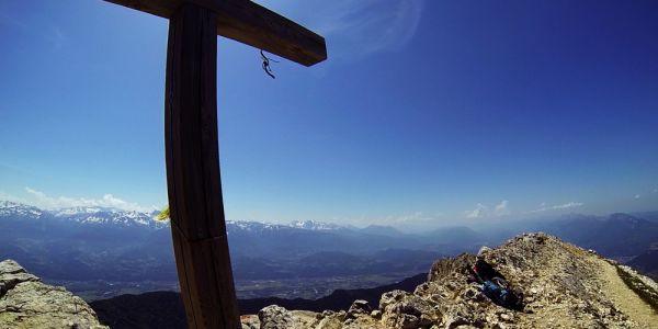 VTT chamechaude sommet croix